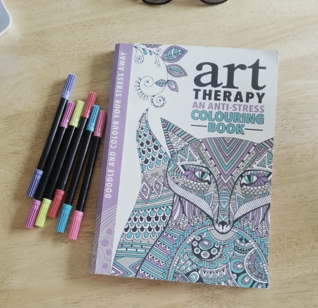 Art therapy anti stress colouring book (2)