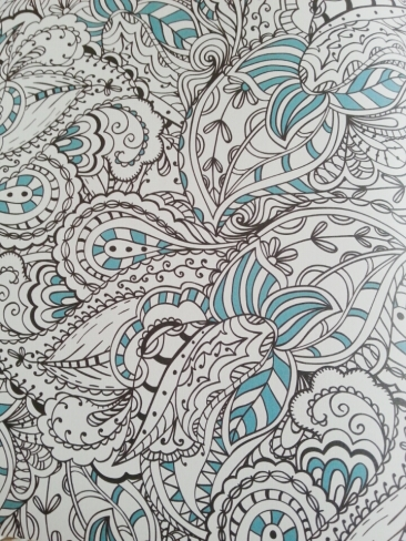 Art therapy anti stress colouring book (3)